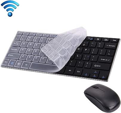 XIXI PC JK-903 2 4 GHz Wireless 78 Tasten Mini-Tastatur mit Tastaturabdeckung Wireless Optical Mouse mit integriertem USB-Empf nger for Computer PC Laptop Schwarz Langlebig und tragbar Schätzpreis : 36,06 €