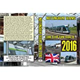 3325. Nottingham. UK. Tram. June 2016. Our long awaited look at the new route to P&R at Clifton with coverage of the whole route lineside plus some original route