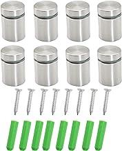 WJUAN 8 stuks reclame schroef nagels teken houders nagelglas standoff bevestigingen, schroef glas standoff houder voor mon...