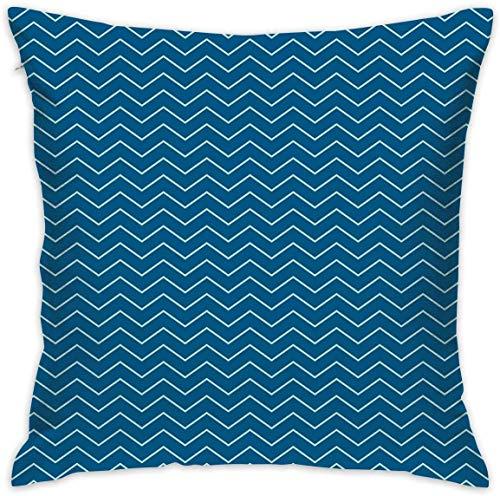 Home Decor Kissen Kissenbezug, horizontale Zickzack-Chevron-Muster in dunklen und Hellen Farben Geometrisch, dekorative...