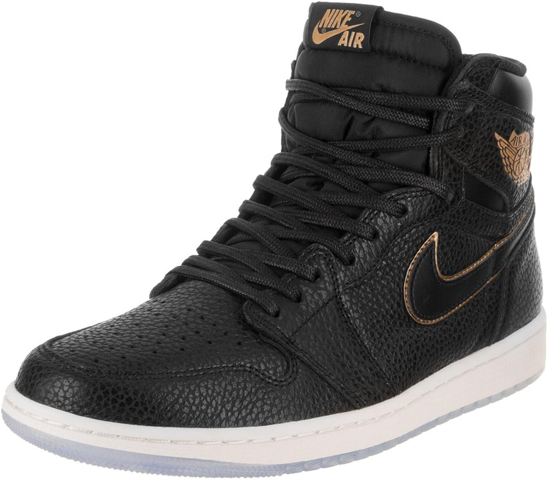 Nike Air Jordan I Retro High OG - 555088031 - Farbe  Schwarz - Größe  46.0 B0059A0UOC Niedrige Kosten