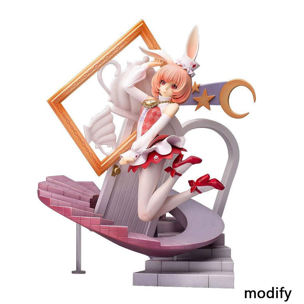 Duzhengzhou Fairy Tail: Alicia en el país de Las Maravillas: Otro Conejo Blanco - 10.6 Pulgadas Figura de PVC: Amazon.es: Juguetes y juegos