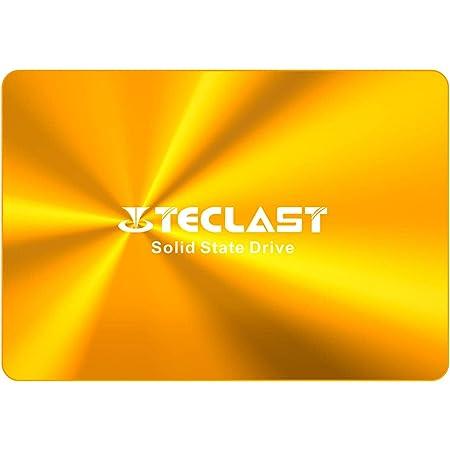 TECLAST SSD 内蔵 120GB 2.5インチ 3D NAND採用 SATA3 6Gb/s 7mm PS4動作確認済 金属筐体 アルミ製 日本語取扱説明書付き 3年保証 国内正規代理店品