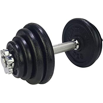 Tunturi Weight Set Mancuernas con 1 Barra Ajustable, Unisex Adulto ...