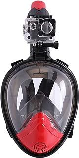 CapsA Full Face Snorkel Mask for Kids Adults Snorkel Mask Diving GogglesAnti-Fog Anti-Leak Snorkeling Set