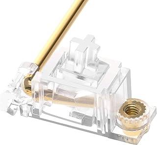 DUROCK V2 PCB Mount Screw-in Stabilizers Transparent Housing Gold Plated 2u 6.25u 7u Keycap Stabilizers Mechanical Keyboar...
