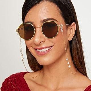 Bohend Mode perle Chaîne de lunettes Or Perle Chaîne de masque facial Femmes Chaîne de lunettes de soleil Accessoires Pour...