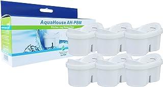 comprar comparacion 6x AquaHouse AH-PBM cartuchos de filtro de agua compatibles con jarras de filtro Brita Maxtra, Bi-Flux y Tassimo