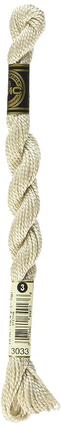 DMC 115 3-3033 Pearl Cotton Thread, Light Mocha Brown