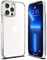T Tersely Case Cover for iPhone 13 Pro Max 6.7-Inch, Slim Shockproof Bumper Cover Anti-Scratch Crystal Clear Case for...