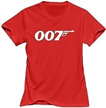 VAVD Lady's James Bond 007 Short Sleeve T-Shirt