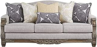 Signature Design by Ashley - Sylewood  Elegant Sofa, Slate