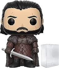 Game of Thrones: Jon Snow Funko Pop! Vinyl Figure (Includes Compatible Pop Box Protector Case)