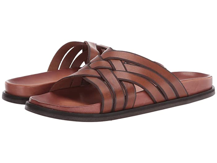 Mens Retro Shoes | Vintage Shoes & Boots Cole Haan Feathercraft Slide Sandal Monks RobeCH Dark Roast Mens Shoes $69.95 AT vintagedancer.com