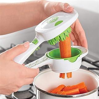 SEESEE.U Accessoires de Cuisine Gadget de Cuisine de légumes de ménage de légumes Rapides en Acier Inoxydable