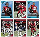 FALCONS Gift Pack - 2015 Topps PLUS 2016, 2017 and 2018 Donruss Atlanta Falcons Football Card Team Sets (4 complete sets) with over 40 cards. Includes Matt R... rookie card picture