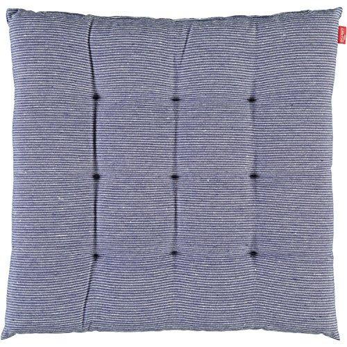 Esprit Home 21455-081-40-40 Stuhlkissen Needlestripe Gre 40 x 40 cm, blau