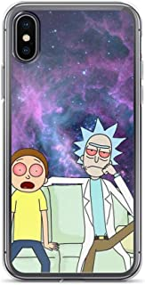 TEEDUYEN Compatible with iPhone 6 Plus/6s Plus Case Scientist Morty Pickle Rick Adventures Universe Pure Clear Phone Cases Cover
