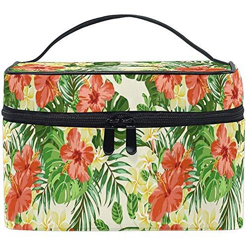 Voyage Cosmétique Sac Printemps Poppy Blossoms Palm Voyage Cosmétique Brosse Sac De Stockage Organisateur