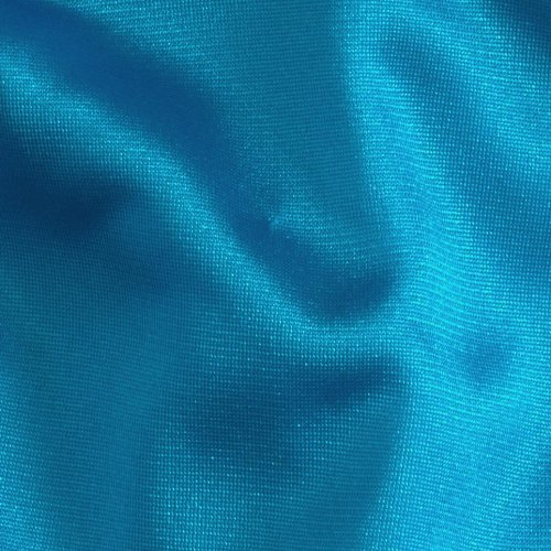 108'' 40 Denier Tricot Turquoise, Fabric by the Yard