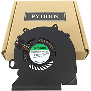 Z-one Fan Replacement for Dell Latitude 5401 Series CPU Cooling Fan 4-Wires 4-pins EG50060S1-C400-S9A 0YX3WM YX3WM