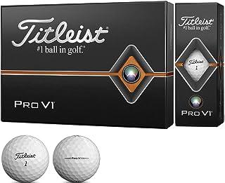 タイトリスト(TITLEIST) ゴルフボール 2019 Pro V1 ハイナンバー ユニセックス T2026S-H-J ホワイト