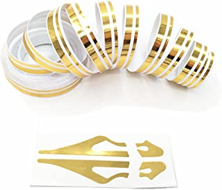 Best blue sticker with two yellow stripes Reviews