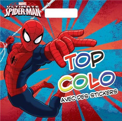 Spiderman , TOP COLO format carré