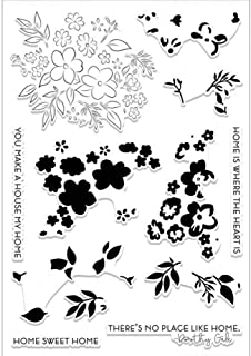 Cherry Blossoms Flower Clear Rubber Stamps Stamping DIY Scrapbooking Embossing Stencil Seal Home Decoration Crafts Album G...