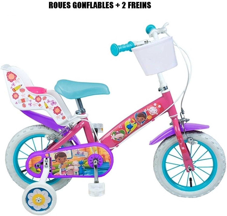 Fahrrad offiziellen Doc die Plüsch 12Zoll Disney Kinder Mdchen