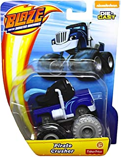 Pirate Crusher and The Monster Machines Diecast