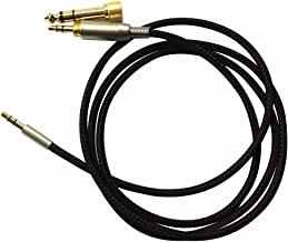 1.5m Replacement Headphone Cable For philips SHP9500 SHL5505 SHL5705 SONY MDR-1A 10R