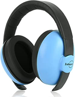 Baby Noise Canceling Headphones Adjustable Noise Protection Ear Muffs for Autism Newborn Infant Headphones for 3 Months to 2 Years, Blue
