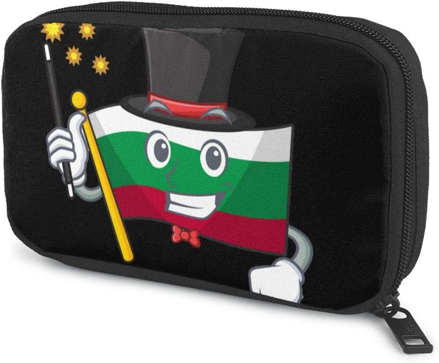 Bulgarian Flag Magician Electronics Austin Mall Tech Max 52% OFF Gadget Organizer Travel