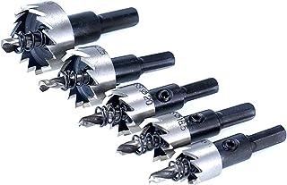 Wnuanjun 5 delen/set HSS-boren high-speed stalen gatenzaag voor ijzer roestvrij staal metaal aluminiumlegering 16/18,5/20/...