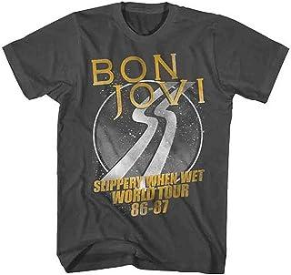 BON JOVI ボン・ジョヴィ (デビュー35周年記念) - WORLD TOUR/Tシャツ/メンズ 【公式/オフィシャル】