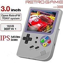 MJKJ Handheld Game Console , 2019 Upgraded RG300 Retro Game Console OpenDingux Tony..