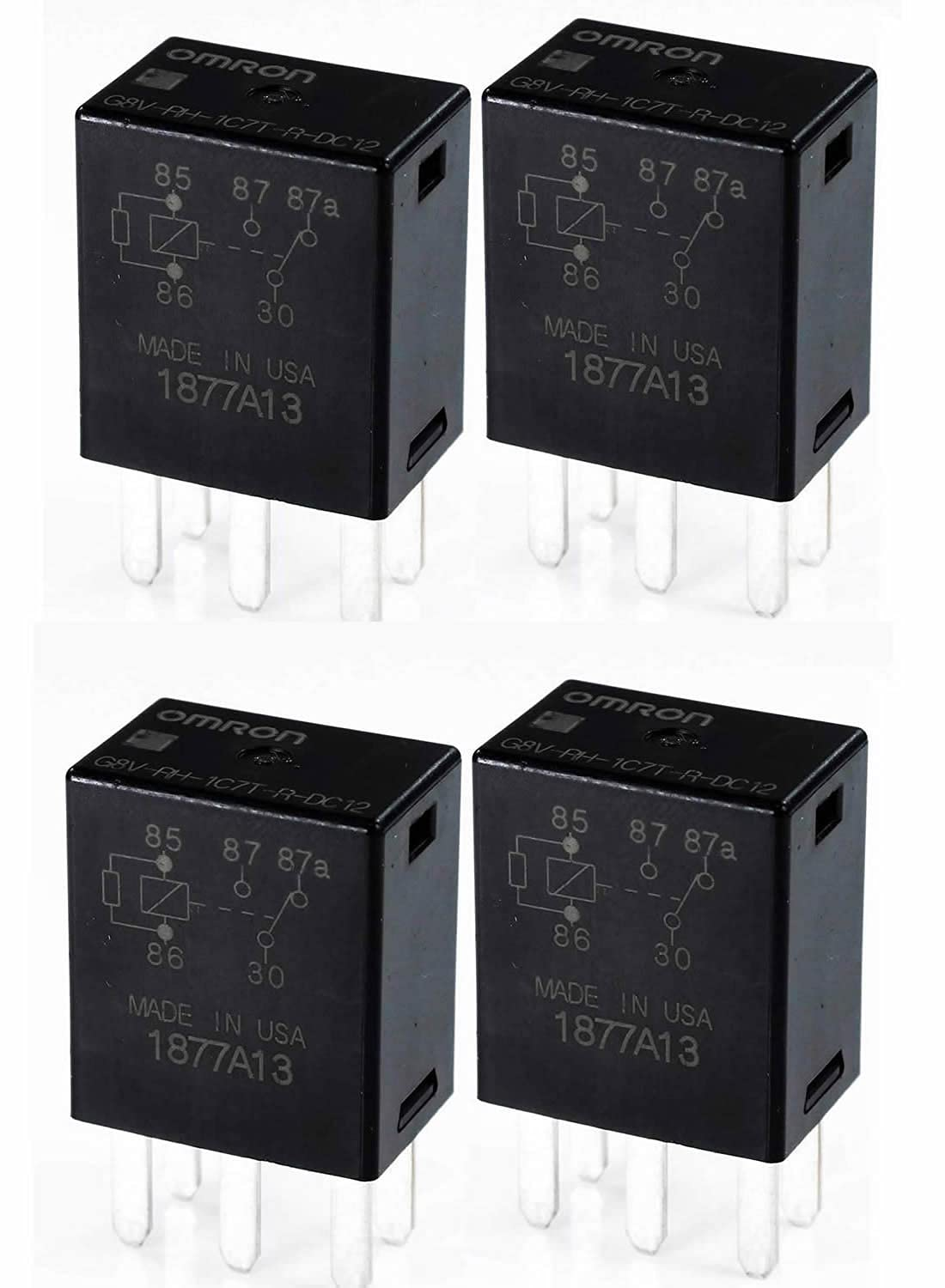 G8V-RH-1C7T-R-DC12 Our shop OFFers the best service - Power Piece Ranking TOP12 Relay 4