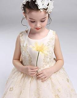 best baby 子供用ドレス ワンピース プリンセスドレス 結婚式 発表会 七五三 誕生日 演出用 舞台用 ウェディング リボン付き ダンス