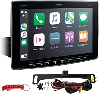 """$999 » Alpine Halo11 iLX-F411 Car Stereo 11"""" Multimedia Receiver Safe Driver's Bundle with Backup Camera. Extra Large Floating Sc..."""