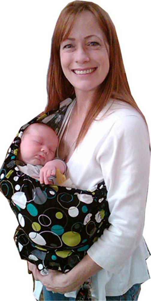 Cub Co-Z Convertible Carrier (Diaper Bag converts into Baby Sling Carrier) (Medium, Sky - Kona Cotton)