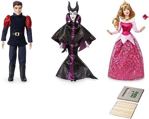 Aurora, Malefiz und Prinz Phillip Klassische Puppensammlung von Disney (Phillip   Aurora   Maleficent)