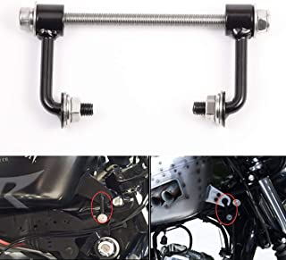 PBYMT Motorcycle Black Gas Tank Lift Kit Compatible for Harley Sportster Iron XL 48 72 883 1200 1995-2019