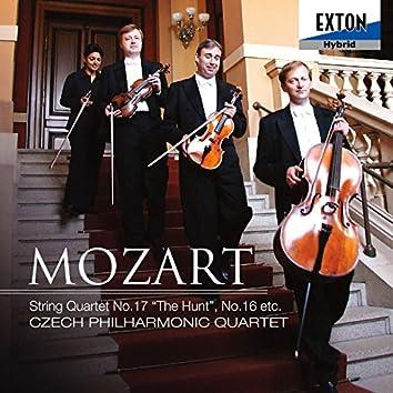 Mozart: String Quartet No. 17 ''The Hunt'' & No. 16