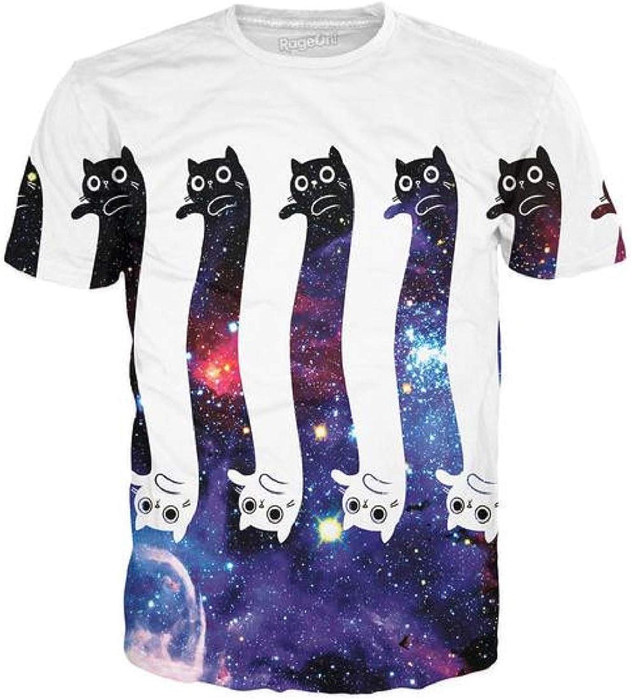 RageOn Classics Infinity Cats Premium All Over Print TShirt