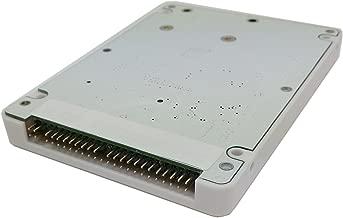 CY mSATA Mini PCI-E SATA SSD to 2.5 inch IDE 44pin Hard Disk Case Enclosure White for Notebook Laptop