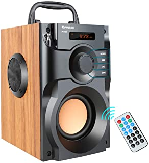 Portable Bluetooth Speaker Wireless Subwoofer Stereo Bass Speakers Outdoor/Indoor Powerful Speaker Support Remote Control ...
