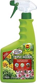Compo Triple Acción Protección contra Insectos, Hongos y ácaros, para Plantas de Interior y Ex...