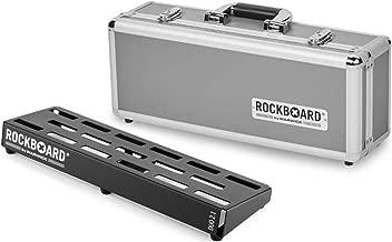RockBoard DUO 2.1-18.11in x 5.75in Pedalboard w/Flight Case