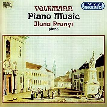 Volkmann: Cavatine / Barcarolle / Buch Der Lieder / Intermezzo / Nocturne / Vier Marsche